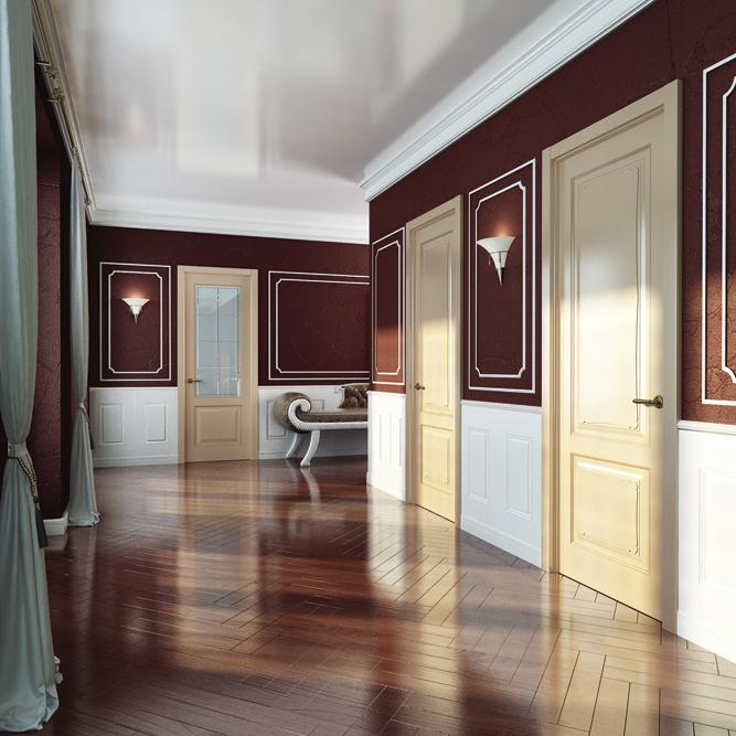 Межкомнатные двери Perfecto Porte коллекция PROVENCE-2 Triumph фото интерьер