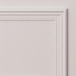Двери Океан коллекция Дрезден цвет белая эмаль