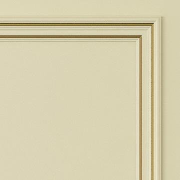 Двери Океан коллекция Дрезден цвет шампань с золотом