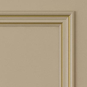 Двери Океан коллекция Дрезден цвет Латтес золотом