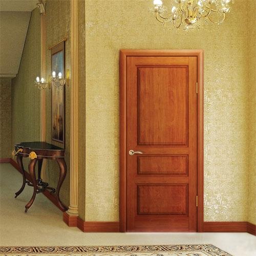 Двери Океан Ульяновск нео классика Красное дерево фото интерьер