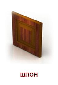 ходные двери Бастион отделка натуральный шпон фото